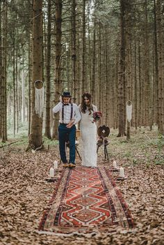 Boho wedding ceremony in the forest, A boho forest wedding in Marsala - Boho Chic Hochzeit I Bohemian Wedding - Wedding Forest Wedding, Boho Wedding, Wedding Blog, Wedding Styles, Wedding Ceremony, Wedding Venues, Dream Wedding, Wedding Arbors, Wedding Locations