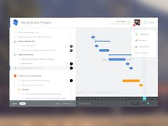 Hey folks,  This is a first shot for one of our project, Juun, our in-house project management system. Check it out it's pretty fun. http://juun.io