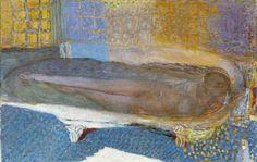 Pierre Bonnard - Nu dans la baignoire - 1936 - Musée d'art moderne de la Ville de Paris