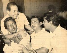 Mohammed Rafi, Sumant Raj, Manohari Singh and Hariprasad Chaurasia.