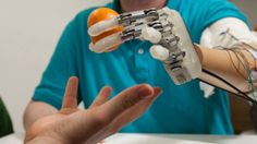 Bionic Hand Successfully Regenerates Sense Of Touch