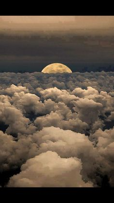Moonwalk-Moon-Sky-Clouds-Photography-by-Victor-Caroli-. Beautiful Moon, Beautiful World, Beautiful Moments, Beautiful Scenery, Beautiful Images, Pretty Pictures, Cool Photos, Heaven Pictures, Shoot The Moon