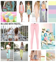 Pastel trend for Spring 2013/ thank heaven. I'm so sick of neon!!!