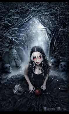 GOTHIC ART - venom princess