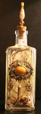 ☆ Custom Spell Bottles :: Ostara Old Wold Magick Shop ☆