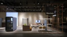 Martela's booth at SFF 2019 Best Workplace, Learning Environments, Scandinavian Design, Stockholm, Interior, Table, Furniture, Home Decor, Decoration Home