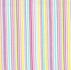 CF4844 SLENDER STRIPE PINK on cotton flannel baby flannels STRIPES BASICS VERTICAL LINES MULTI Michael miller