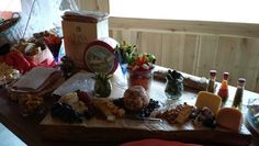 Buffet cheese board on cedar plank by karrie walmer 5.17.14