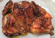 Narancsos, olívaolajos sült csirke Tandoori Chicken, Healthy Recipes, Healthy Food, Pork, Meat, Ethnic Recipes, Minden, Drink, Healthy Foods