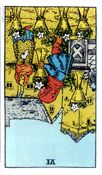 Six of Cups - Reversed