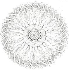 square mandala coloring pages - Bing Images