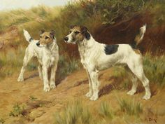 Thomas Blinks (British, 1860-1912), At their master's call