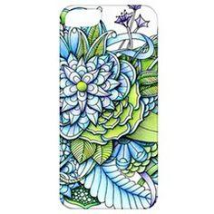 Peaceful Flower Garden - iPhone 5 Classic Hardshell Case from ZandiepantsGiftShop