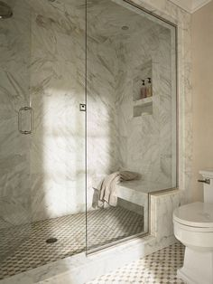 Traditional Bathroom Shower Bench Design, Pictures, Remodel, Decor and Ideas - page 2 Shower Seat, Shower Niche, Master Shower, Shower Alcove, Shower Door, Master Bath, Minneapolis, Bad Inspiration, Bathroom Inspiration