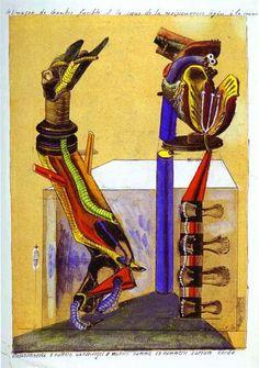 The slug room, 1920 Max Ernst