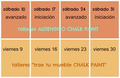 """Talleres #ChalkPaintMadrid Enero 2015 en Tintura"" http://tintura.es/"