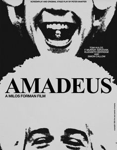 The incredible story of Wolfgang Amadeus Mozart, told by his peer and secret rival Antonio Salieri - now confined to an insane asylum.  Director: Milos Forman