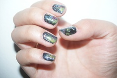 try something out of this world!  - Galaxy nails 3000