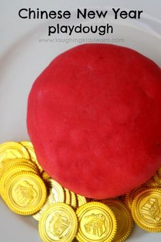 Playdough inspired by Chinese New Year is a fun and simple way of introducing children into culture and traditions. - Laughing Kids Learn