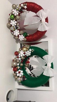 Christmas Wreaths, Christmas Crafts, Christmas Decorations, Christmas Tree, Holiday Decor, Ornament Wreath, Ornaments, Home Decor, Teal Christmas Tree