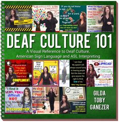 Deaf Culture 101 Photo Book autographed + FREE Shipping