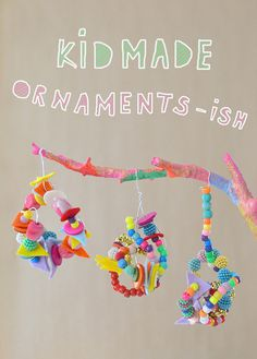 """ornaments inspired by the book """"Ish"""" by Peter H. Reynolds"""