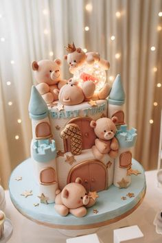 Cake Wrecks - Home - Sunday Sweets: Cute Baby Cakes - # Check more at . - Cake Wrecks – Home – Sunday Sweets: Cute Baby Cakes – # Check more at carry. Fondant Cupcakes, Cupcake Cakes, Fondant Baby, Cute Birthday Cakes, Beautiful Birthday Cakes, Special Birthday, Fondant Birthday Cakes, Teddy Bear Birthday Cake, Baby First Birthday Cake