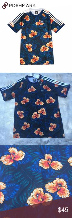Adidas Originals Sweetleaf Jersey Shirt in Men The Sweetleaf Jersey from adidas Originals features an incredible allover print. The polyester material is breathable. Size XL. adidas Shirts
