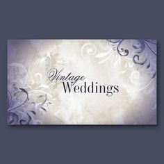 Pretty Vintage Swirl Wedding Planner Business Card This Elegant Features A Beige