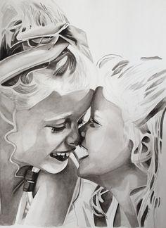 May 2020©, 30 x 40, watercolour. Art, Male Sketch, Watercolor, Design