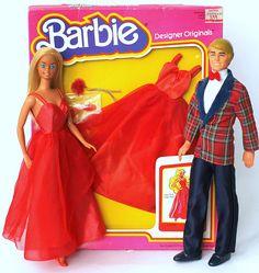 Barbie & Ken in Designer Originals, Paint the Town Red 1980 | Flickr - Photo Sharing!