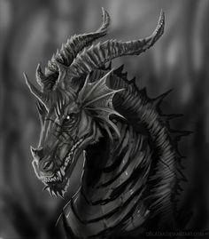 ☆ Dark Dragon :: By ~Decadia ☆