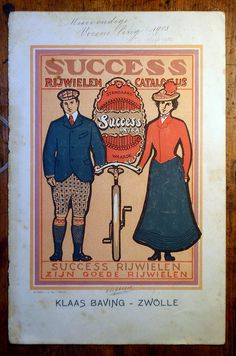 KLAAS BAVING SUCCES BICYCLES 1902-1903 | Flickr - Photo Sharing!