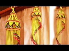 Easy Macrame Big Jhumar... - YouTube