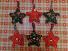 Reversible Stars - for tree decoration gifts 2014 Tree Decorations, Christmas Ornaments, Stars, Holiday Decor, Gifts, Inspiration, Home Decor, Presents, Biblical Inspiration
