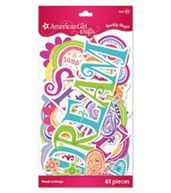 American Girl Sparkly Shapes-Assets