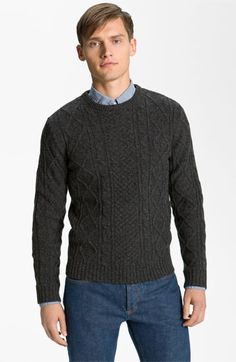 A.P.C. 'Fisherman's' Lambswool Sweater available at #Nordstrom