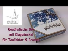 Wellnessbox – Quadratische Verpackung mit Klappdeckel mit Stampin' Up! - YouTube
