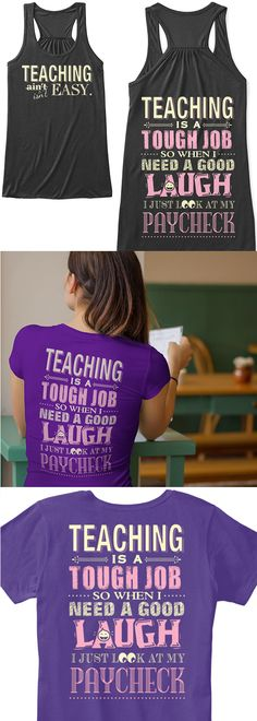 7c514a388 Teaching definitely isn't easy! Show your pride with this new shirt you can