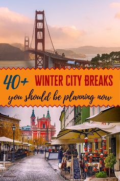 It's important to get out and travel during winter. Here are some great ideas for a winter city break to help you avoid cabin fever until spring arrives. Travel Advice, Travel Guides, Travel Tips, Best Places To Travel, Cool Places To Visit, Vacation Places, Vacation Ideas, Travel Couple, Family Travel