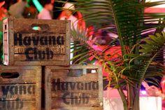 Crate idea - Cuban/Havana labelling on otherwise plain crates
