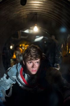 """Thomas Brodie-Sangster. """"You've got dirt on your nose, by the way, did you know?"""""""
