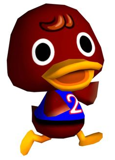 Bill from Animal Crossing. I know this is nerdy but this guy was my best friend.