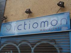 Acuarios ICTIOMON, Calle Pare Claret, Barcelona.