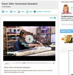 Karen Allen Machine Knits With Two Electronic Carriages In Same Sweater   knittsings