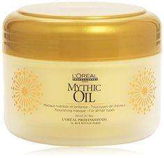 L'Oréal Professionnel - Masque Cheveux Nutrition et Brillance - Mythic Oil - 200 ml L'Oréal Paris http://www.amazon.fr/dp/B008F2JKCE/ref=cm_sw_r_pi_dp_A5w.vb1CRSRA7