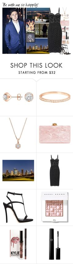 """""""Valentine's Day with Niall Horan"""" by bekahboovivi ❤ liked on Polyvore featuring VANRYCKE, Bloomingdale's, Edie Parker, Dolce&Gabbana, Dsquared2, Bobbi Brown Cosmetics, Essie and Gucci"""