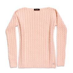 saint croix - cable knitted baby cashmere