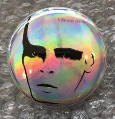 GARY NUMAN Tubeway Army album cover face relief post punk new wave space rock holographic button New Wave Music, Gary Numan, Rebel Yell, Post Punk, Pop Rocks, Freddie Mercury, Rock Music, Holographic, Album Covers