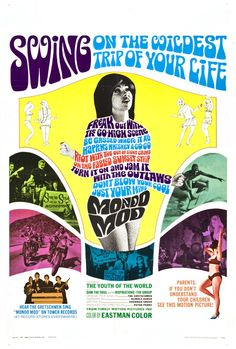 Mondo Mod (1967) - poster